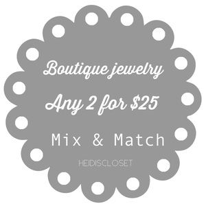 Boutique Jewelry ... 2 For $25..